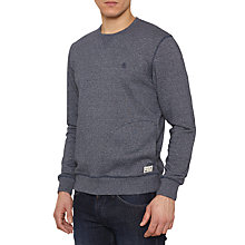 Buy Original Penguin Wallace Crew Jersey Top, Dark Sapphire Online at johnlewis.com