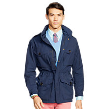Buy Polo Ralph Lauren Canadian Lined Jacket, Aviator Navy Online at johnlewis.com