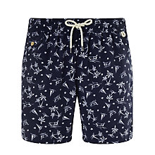 Buy Polo Ralph Lauren Traveller Swim Shorts, Navy Online at johnlewis.com