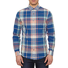 Buy Original Penguin Mens Kakto Checked Shirt, Multi Online at johnlewis.com