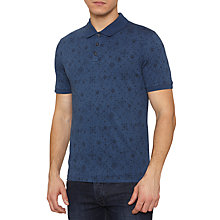Buy Original Penguin Denim Flex Polo Top, Dark Denim Online at johnlewis.com