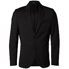 Buy Selected Homme Shx One Tailored Blazer, Black Online at johnlewis.com
