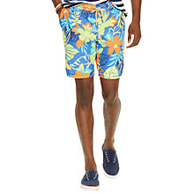 Buy Polo Ralph Lauren Captiva Swim Shorts, Navy Preppy Hibiscus Online at johnlewis.com
