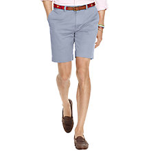 Buy Polo Ralph Lauren Flat Fit Chino Shorts, Blueberry Online at johnlewis.com