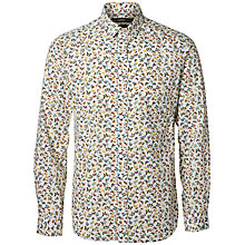 Buy Selected Homme SHX One Butterfly Shirt, White Online at johnlewis.com