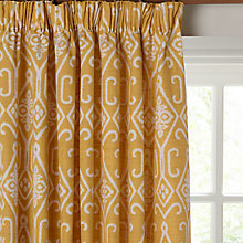 Buy John Lewis Saigon Lined Pencil Pleat Curtains Online at johnlewis.com