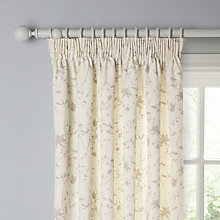 Buy John Lewis Freya Lined Pencil Pleat Curtains, Natural Online at johnlewis.com
