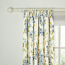 Buy John Lewis Wisteria Blackout Lined Pencil Pleat Curtains Online at johnlewis.com