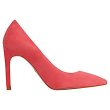 Buy Whistles Cornel High Heeled Stiletto Court Shoes, Pink Suede Online at johnlewis.com