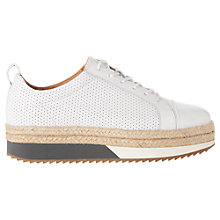 Buy Whistles Melby Split Sole Flatform Trainers Online at johnlewis.com