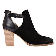 Buy Mint Velvet Viola Block Heeled Ankle Boots Online at johnlewis.com