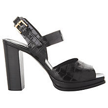 Buy Whistles Laxo Block Heeled Sandals Online at johnlewis.com