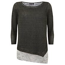 Buy Mint Velvet Gia Print Overdye Jumper, Multi Online at johnlewis.com