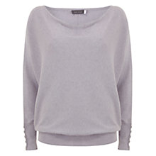Buy Mint Velvet Batwing Jumper, Purple Mist Online at johnlewis.com