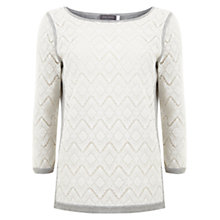 Buy Mint Velvet Lace Jumper, Multi Online at johnlewis.com