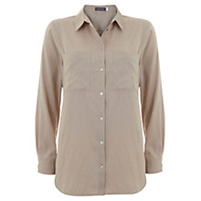 Buy Mint Velvet Patch Pocket Shirt, Camel Online at johnlewis.com