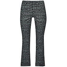 Buy French Connection Canyon Sands Trousers, Tribal Green Multi Online at johnlewis.com