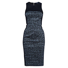 Buy French Connection Canyon Sands Dress, Tribal Green Online at johnlewis.com