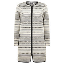 Buy Mint Velvet Jacquard Coat, Multi Online at johnlewis.com