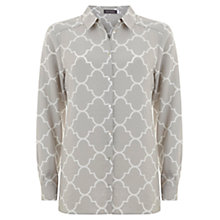 Buy Mint Velvet Faye Print Shirt, Multi Online at johnlewis.com