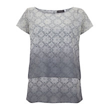Buy Mint Velvet Reese Print Double Tee, Multi Online at johnlewis.com