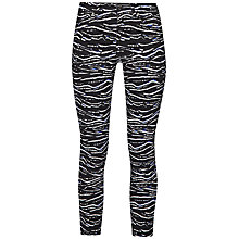 Buy French Connection Tapir Wave Denim Cropped Trousers, Black/Multi Online at johnlewis.com