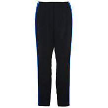 Buy French Connection Thomas Block Trousers, Black/Emporer Blue Online at johnlewis.com