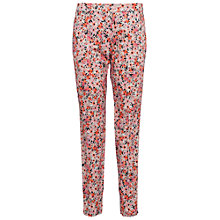 Buy French Connection Bacongo Daisy Skinny Trousers, Fizi Pink Multi Online at johnlewis.com