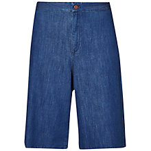 Buy French Connection Denim Shorts, Surf Blue Online at johnlewis.com