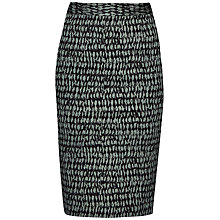 Buy French Connection Canyon Sands Pencil Skirt, Tribal Teal Online at johnlewis.com