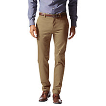 Buy Dockers Marina Twill Trousers, Khaki Online at johnlewis.com