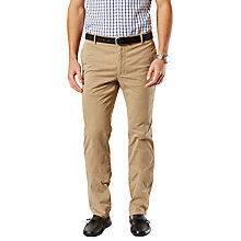 Buy Dockers Marina Slim Tapered Twill Khaki Online at johnlewis.com