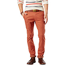 Buy Dockers Alpha Skinny Tapered Coated Trousers Online at johnlewis.com