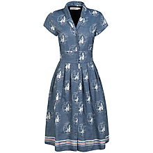 Buy Seasalt Beatrice Dress, Tacking Indigo Online at johnlewis.com
