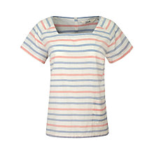 Buy Seasalt Tangles Top, Breton Multi Online at johnlewis.com