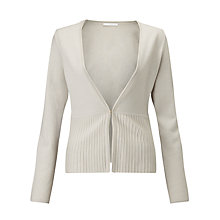 Buy BOSS Fily Edge To Edge Cardigan, Light Beige Online at johnlewis.com