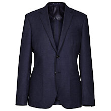 Buy Reiss Millar Mottled Weave Wool Blazer, Navy Online at johnlewis.com