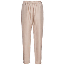 Buy French Connection Ava Suiting Drawstring Trousers, Oatmeal Online at johnlewis.com