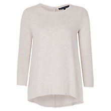 Buy French Connection Koko Knit Long Sleeve Jumper, Stone Online at johnlewis.com