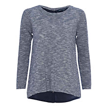 Buy French Connection Koko Crew Neck Jumper, Utility Blue Online at johnlewis.com
