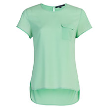 Buy French Connection Polly Plains Short Sleeve Pocket T-Shirt Online at johnlewis.com