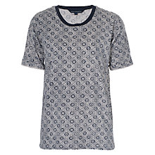 Buy French Connection Medina Tile Print T-Shirt, Nocturnal Multi Online at johnlewis.com