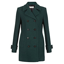 Buy Hobbs Caitlin Coat, Celtic Green Online at johnlewis.com