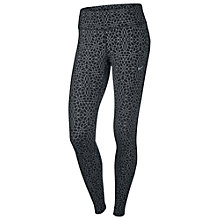 Buy Nike Epic Run Starglass Running Tights, Black/Reflect Online at johnlewis.com
