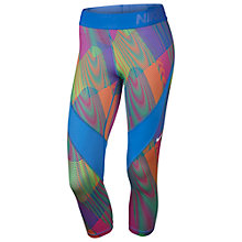 Buy Nike Pro Hypercool Frequency Capri Running Tights Online at johnlewis.com