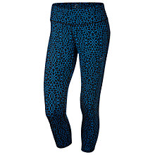 Buy Nike Starglass Epic Run Running Tights, Blue Online at johnlewis.com