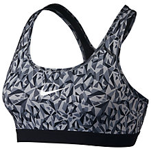 Buy Nike Pro Classic Facet Sports Bra Online at johnlewis.com
