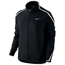 Buy Nike Impossibly Light Running Jacket, Black/White Online at johnlewis.com