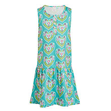 Buy John Lewis Girls' Multi Heart Print Dress, Multi Online at johnlewis.com