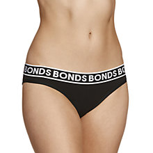 Buy Bonds Cotton Bikini Briefs, Black Online at johnlewis.com